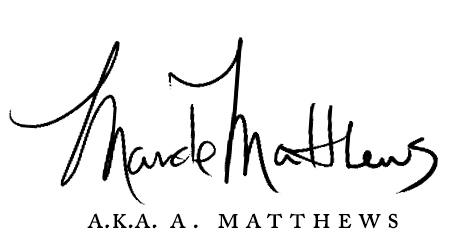 Mande Matthews Fantasy Author A. Matthews Artist