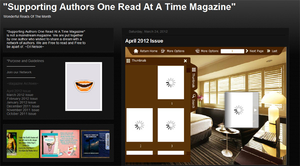 Author to Author April Issue