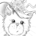free halloween coloring page download pdf